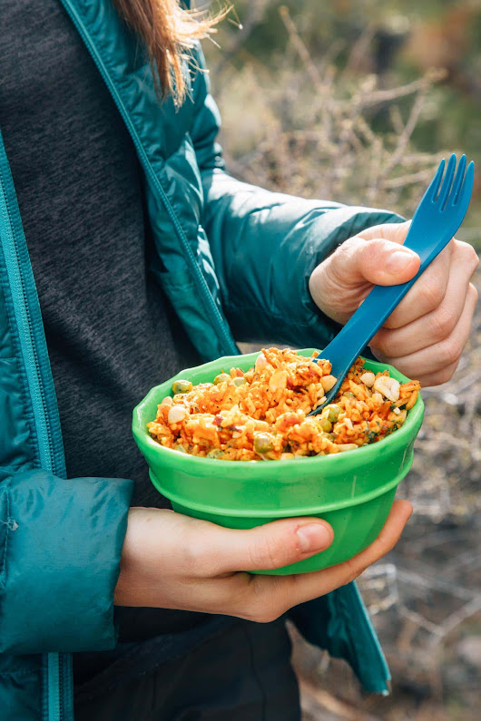 Thai Red Curry Rice with Peanut Coconut Sauce | Fresh Off The Grid