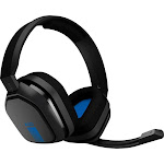 Astro Gaming - A10 Wired Stereo Gaming Headset for PlayStation 4 - Blue/Black