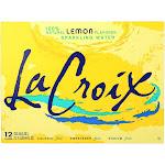 Lacroix Sparkling Water - Lemon 12 Fl Ounce - PACK OF 12