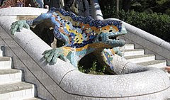 Parc Güell Dragon Restored.jpg