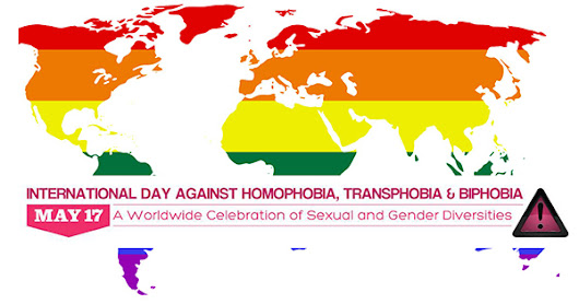 Here's why we still need an international day against LGBTQ hate