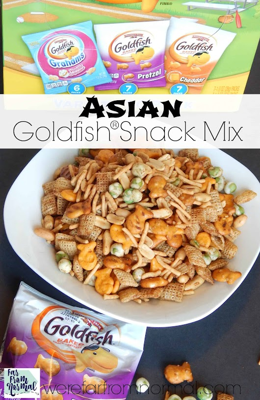 Goldfish Asian Snack Mix | Far From Normal