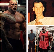 Check out How a 6ft 8in 'lanky boy' transformed himself into an unrecognisable muscle-bound 'man mountain' (Photos)