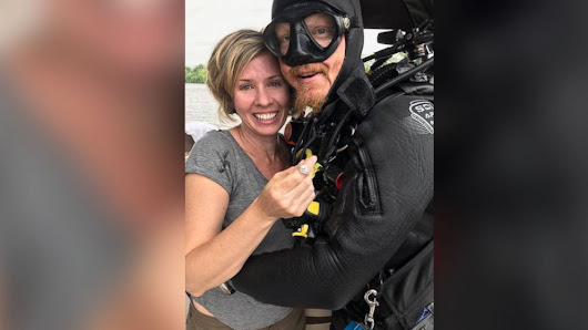 Scuba diver finds woman's engagement ring lost in Alabama river - ABC News