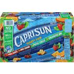 Capri Sun Juice Drink Variety Pack - 40 pack, 6 fl oz pouches