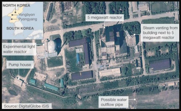 the chinese government has threatened to respond in force to nuclear activity by north korea that impacts china