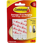 Command 17021p Medium Mounting Refill Strip Kit, 9-count