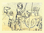 Judean captives leaving the city of Lachish to exile, ca. 701 BC.