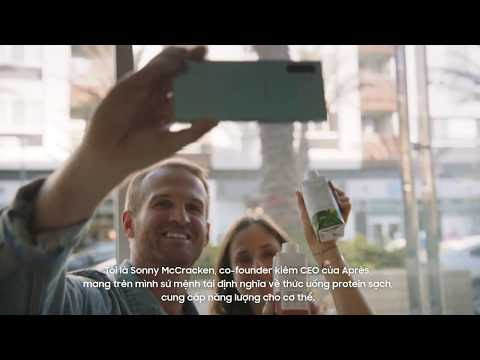 Galaxy Note10: Biến điều không thể thành có thể cùng Sonny McCracken