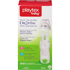 Playtex Drop-Ins Pre-Sterilized Disposable Liners, 8-10 oz - 100 count