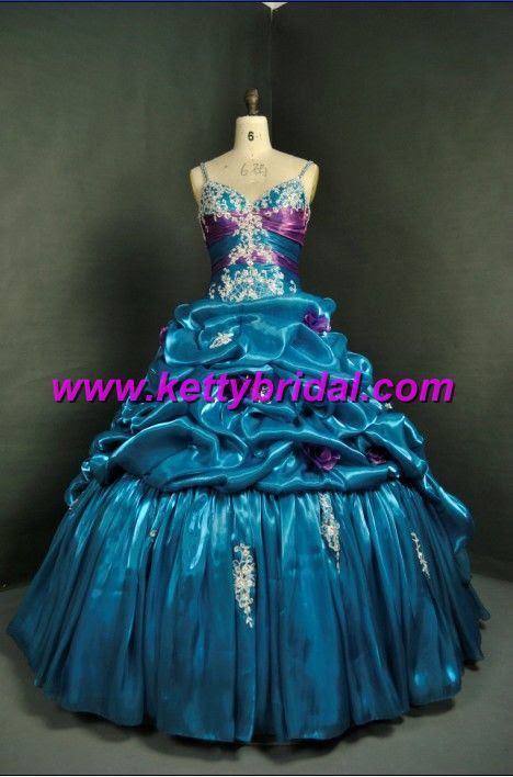 Real Pictures of Wedding DressesQuinceanera DressProm Dress KB2025