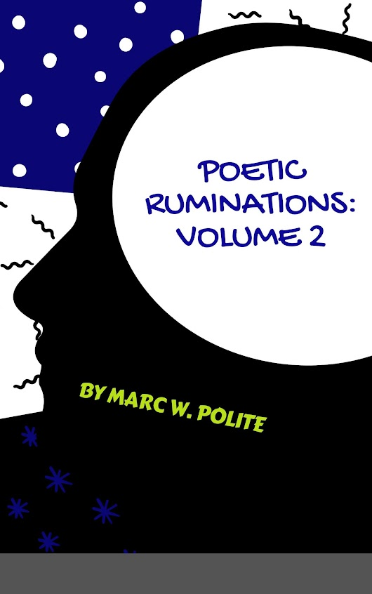 Reminder: Poetic Ruminations Volume 2 Signing at Sister's Uptown May 17th!