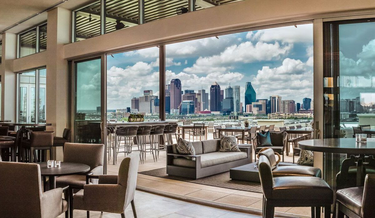 15 Dallas Restaurants With Fireplaces And Fire Pits To