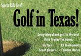 Golf-flyer