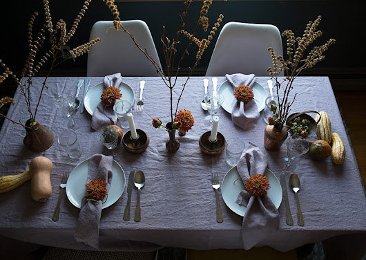 Thanksgiving table inspiration from the Polish countryside