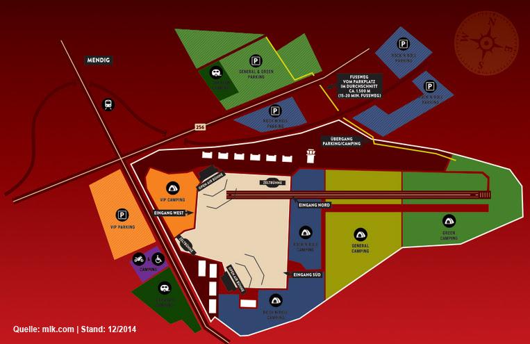 Rock Am Ring Karte.Rock Am Ring Karte Karte
