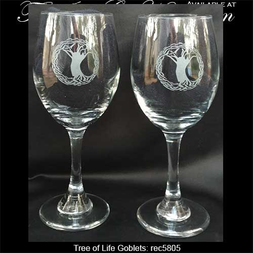 Tree of Life Goblets