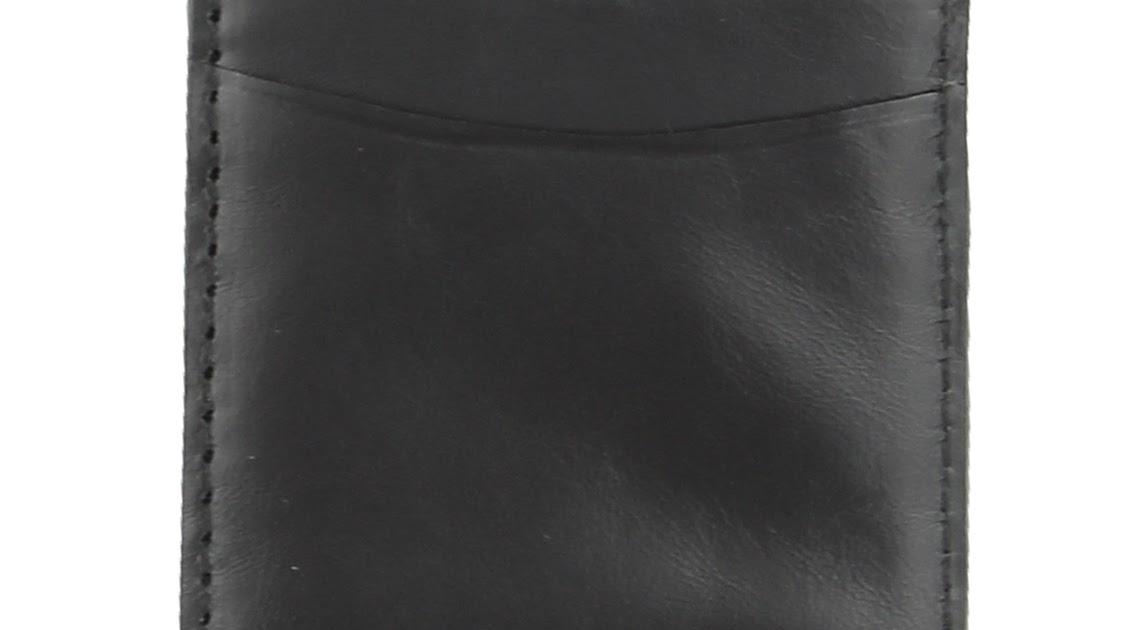 Trafalgar Men/'s Cortina Leather Card Case NWOT