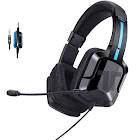 Tritton Kama Plus Stereo Gaming Headset for PS4, PC, Xbox One, Noise Cancelling Over Ear Headphones with Mic, Soft Memory Earmuffs for Laptop Mac