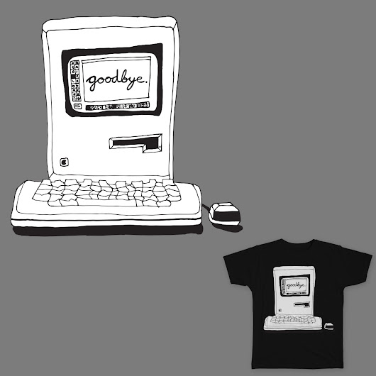 Goodbye on Threadless