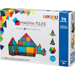 Magna-Tiles - Clear Colors Building Set - Green