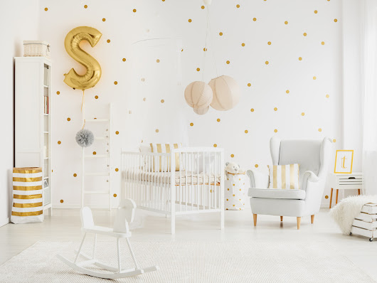 Create an elegant nursery with these timeless design ideas
