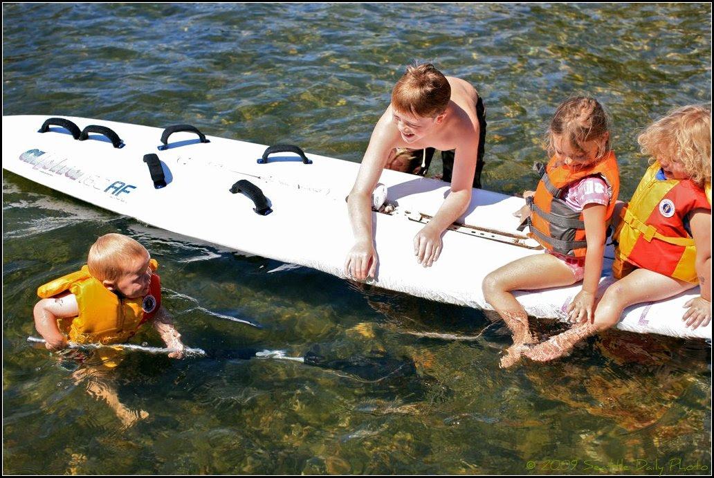 Summer on Lake Washington