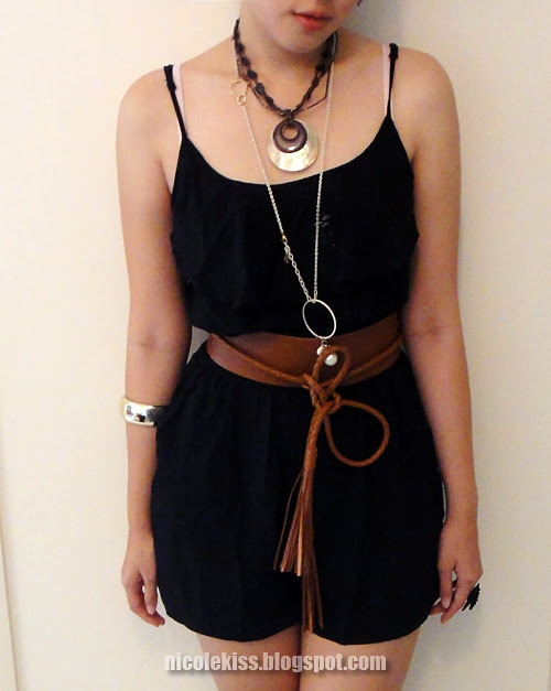 belt and accessories
