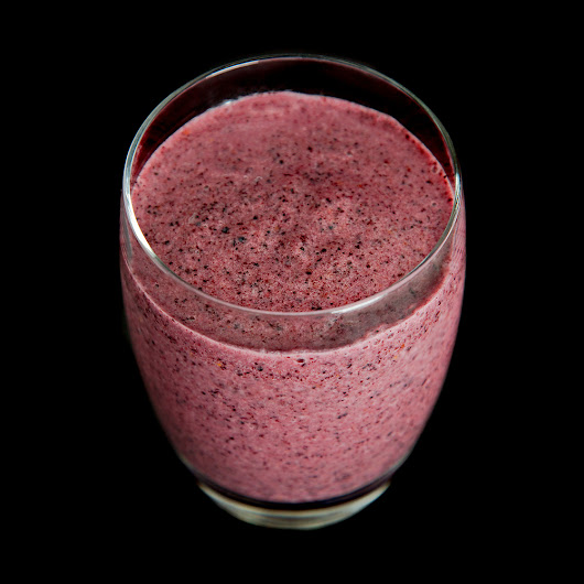Blueberry Cardamom Smoothie
