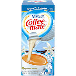 Coffee-mate - Liquid creamer - 0.4 fl.oz - french vanilla - pack of 50