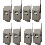 Cuddeback CuddeSafe Trail Camera Security Boxes for J Series Game Cams, 8-Pack