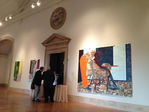 Art exhibit, American Academy of Arts & Letters