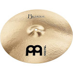 Meinl Byzance Brilliant Medium Crash Cymbal 20 in.