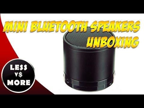Unboxing of the Gadgetree Bluetooth Portable Mini Speaker
