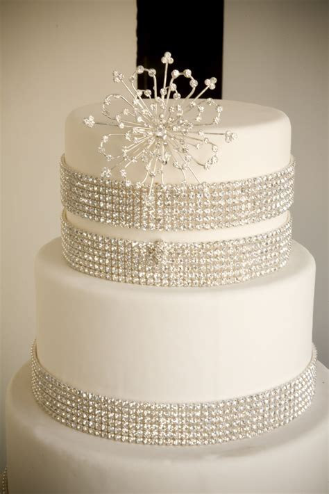A Simple Cake: Crystal decorations More DIY bling