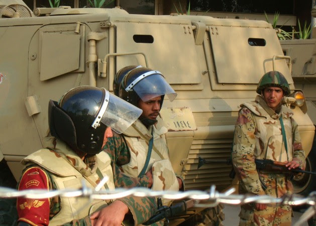 A new constitution is poised to cement the Egyptian military's powers. Credit: Cam McGrath/IPS.