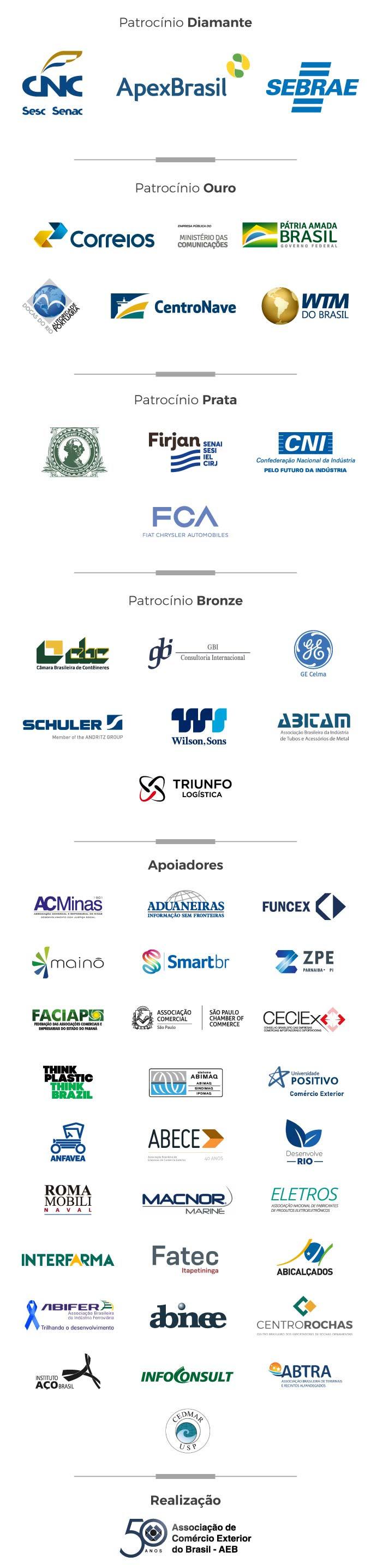Patrocinadores ENAEX 2020