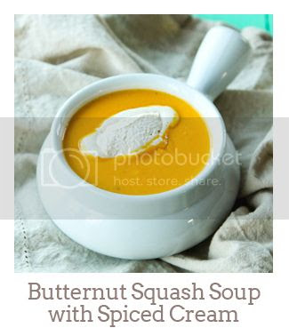 """""""Butternut Squash Soup with Spiced Cream"""""""