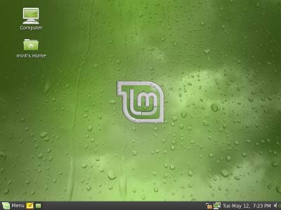 USB Linux Mint Gloria Screenshot