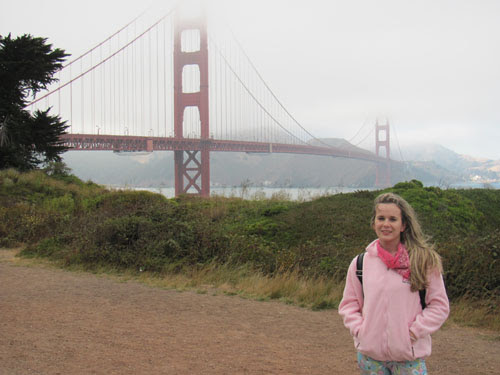 Foto Ila Fox, San Francisco, Golden Gate, California, EUA, 2010