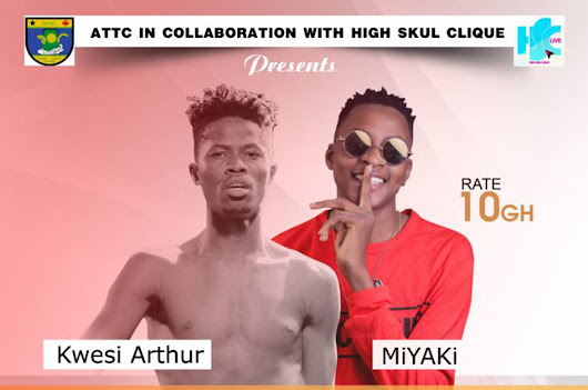 MiYAKi clashes with Kwesi Arthur this weekend at ATTC | Ghana Music