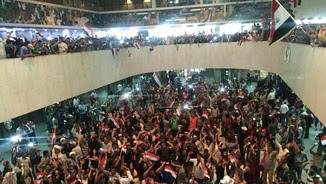 Seguidors de Muqtada al-Sadr al Parlament iraquià
