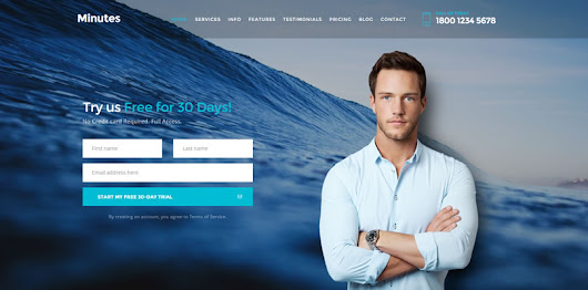 15+ Best Bootstrap Premium / Free App Landing Page HTML Templates 2016