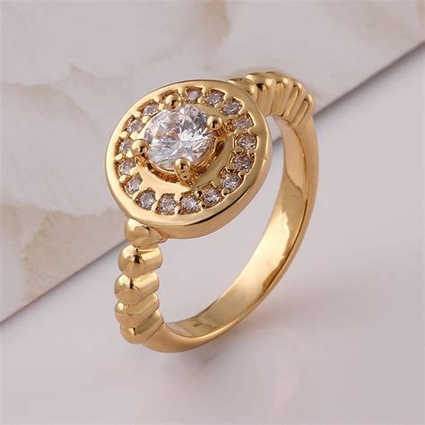 Aliexpress.com : Buy Zircon Chinese Rose Gold Plated