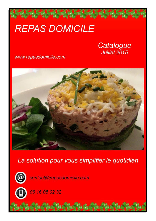 Catalogue Juillet 2015