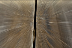 1 if 3 Zoom blur experiment - Wood
