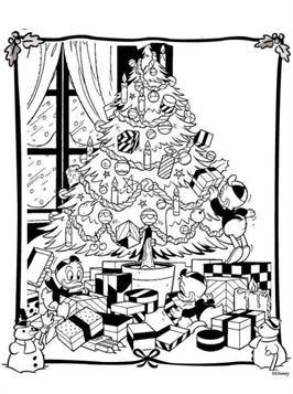 ausmalbilder weihnachten disney kostenlos