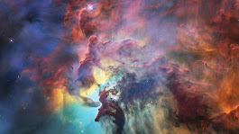 It's The Hubble Space Telescope's Birthday. Enjoy Amazing Images Of The Lagoon Nebula : The Two-Way : NPR
