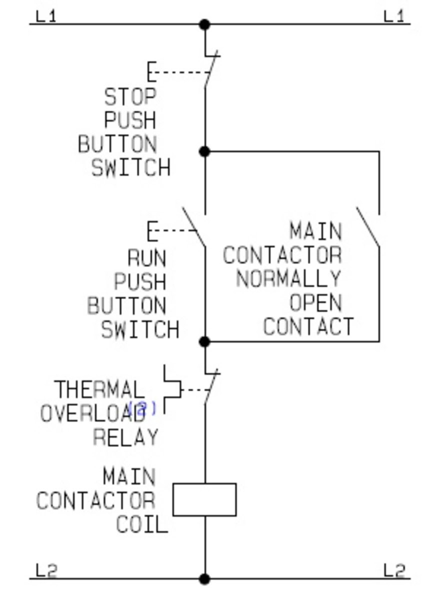 basic relay switch wiring diagram