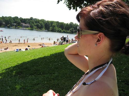 saturday at the lake